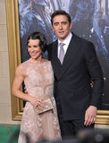 Evangeline Lilly & Lee Pace Stock Foto