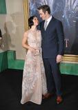Evangeline Lilly & Lee Pace Fotografia Stock