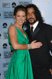 Evangeline Lilly,Naveen Andrews Royalty Free Stock Photography