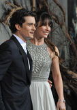 Evangeline Lilly,Orlando Bloom Stock Images