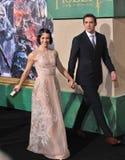 Evangeline Lilly & Zawietrzny tempo Obrazy Royalty Free