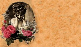 Evangeline Rose Cover 3 Royalty Free Stock Photo