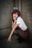 Evangelion Cosplay Stock Images