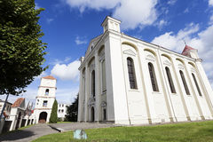 Evangelische kerk in KÄ-Dainiai Stock Foto's