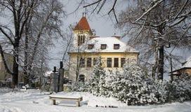 Evangelische Kirche Stockfotografie
