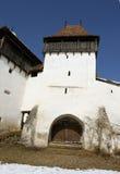 Evangelische Kirche von Viscri lizenzfreie stockbilder