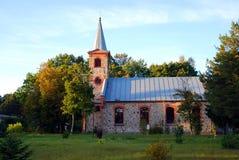 Evangelische lutherische Kirche Stockfotografie