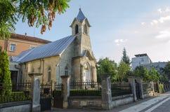 Evangelische lutherische Kirche Lizenzfreie Stockfotos