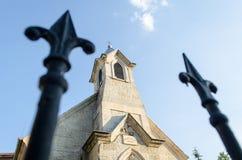 Evangelische lutherische Kirche Lizenzfreies Stockfoto
