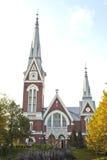 Evangelische lutherische Kirche von Joensuu Lizenzfreie Stockfotos