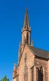 Evangelische Stadtkirche in Offenburg - Deutschland stockfotografie