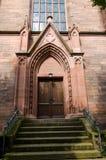Evangelische Stadtkirche in Offenburg - Deutschland lizenzfreies stockbild