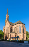 Evangelische Stadtkirche in Offenburg - Germany Stock Photography
