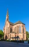 Evangelische Stadtkirche in Offenburg - Germany Stock Photography