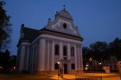 Evangelist church in Spisska Nova Ves, Slovakia Stock Image