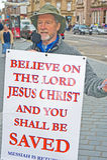 evangelist inverness Arkivfoton