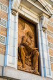 Evangelist-Matthew-Statue Stockfoto