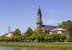 Evangelista Christchurch, Salzburg fotografía de archivo libre de regalías