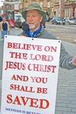 Evangelista a Inverness Fotografie Stock