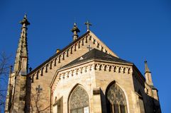 Evangelistic Town Church in Baden-Baden, Germany Stock Photos