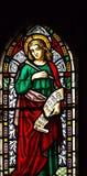 evangelistjohn st Arkivbild