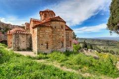 Evangelistria em Mystras, Grécia fotografia de stock royalty free