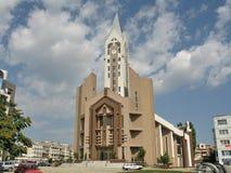 Evanghelical教会锡比乌罗马尼亚 免版税库存照片
