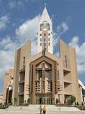 Evanghelical教会锡比乌罗马尼亚 库存图片