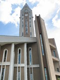 Evanghelical教会锡比乌罗马尼亚-细节 免版税库存图片