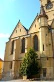 Evanghelical church in the city Sibiu, Transylvania Stock Photography