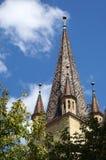 Evanghelical Church Sibiu Romania Stock Photos