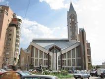 Evanghelical Church Sibiu Romania Royalty Free Stock Photography