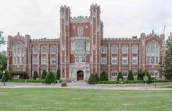 Evans Hall en la universidad de Oklahoma foto de archivo libre de regalías