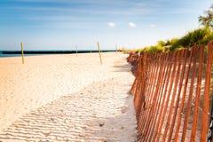 Evanston Beach in Chicago Royalty Free Stock Photo