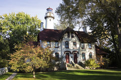 Evanston Lighthouse Stock Images