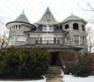 Evanston Queen Anne Royalty Free Stock Photography