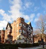 Evanston-Schloss Stockfotos
