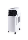 Evaporative air cooler fan Stock Image