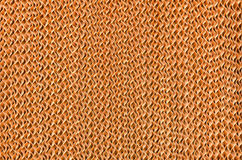 Evaporative. Brown cellulose texture in evaporative system Stock Photo