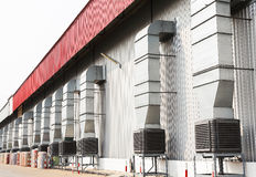 Evaporative cooler Stock Photography