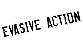 Evasive Action rubber stamp. Grunge design with dust scratches. Effects can be easily removed for a clean, crisp look. Color is easily changed Stock Image