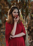 Eve в саде Eden стоковое изображение