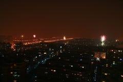 Eve del Año Nuevo Fotografía de archivo libre de regalías