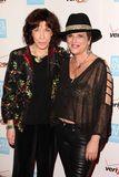 Eve, Eve Ensler, Lily Tomlin. Lily Tomlin, Eve Ensler  at the Peace Over Violence 40th Annual Humanitarian Awards, Beverly Hills Hotel, Beverly Hills, CA 10-28 Stock Photos