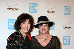 Eve, Eve Ensler, Lily Tomlin Royalty Free Stock Photography