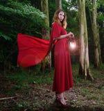 Eve in The Garden of Eden Stock Photos