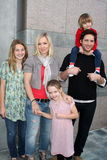 Eve,Jennie Garth,Peter Facinelli,Jenny Garth Royalty Free Stock Photo