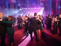 Eve Party van het nieuwjaar bij het het Parlement Paleis Royalty-vrije Stock Fotografie