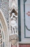 Eve, Portal von Florence Cathedral Lizenzfreies Stockfoto
