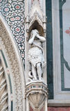 Eve, Portal von Florence Cathedral Lizenzfreies Stockbild